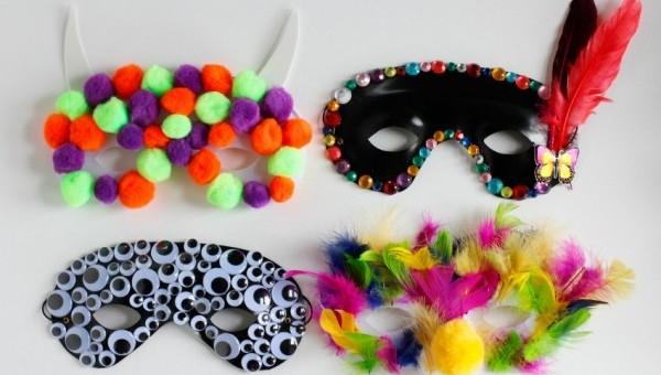 Making-Halloween-Party-Masks-Kids-Craft-600x400